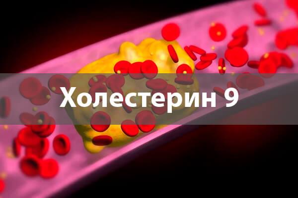 Холестерин 9