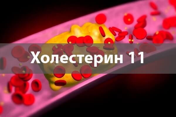 Холестерин 11