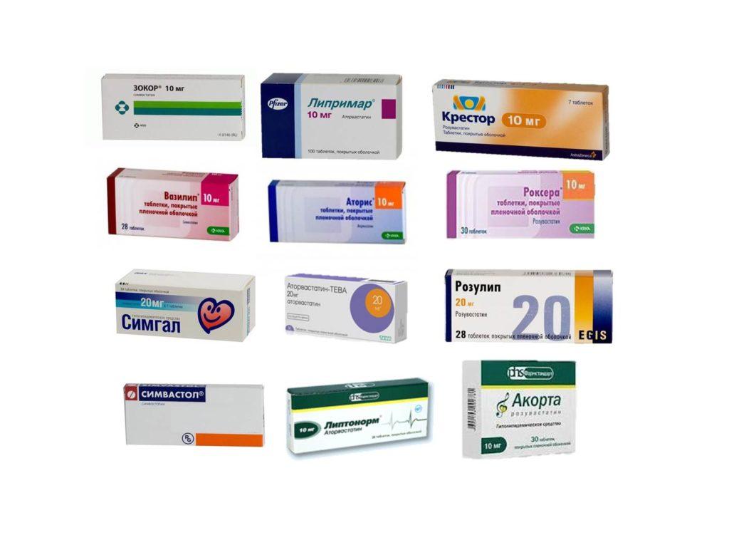 Препараты - статины