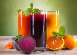 Соковая диета для снижения холестерина