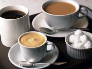 Какао и кофе