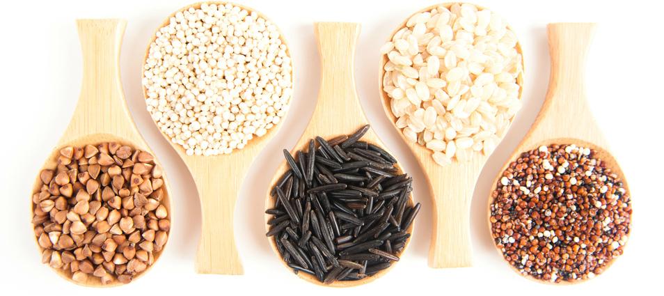 Цельные зерна и орехи