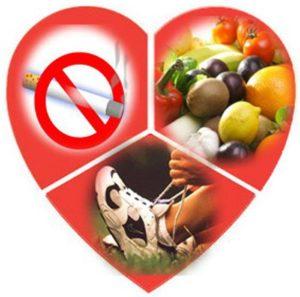 Отказ от вредных привычек и корректировка питания