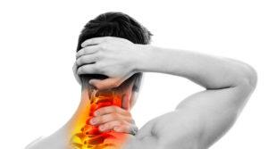 Боль в области шейных позвонков