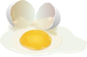 Куриный белок и желток
