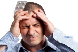 Постоянная головная боль;