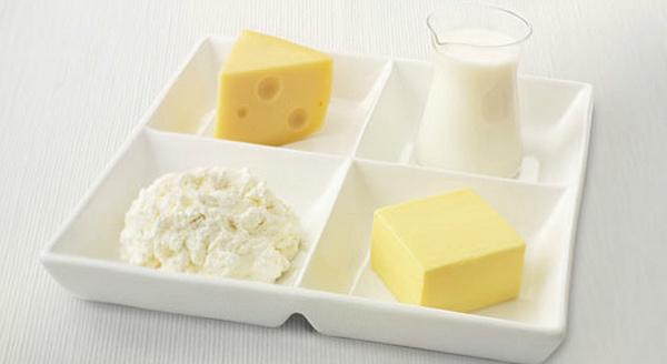 Ограничить сливочное масло, сыр, сметану