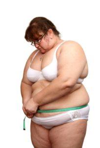 Люди с большим лишним весом