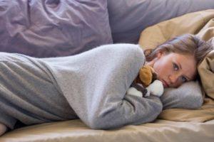 Появление депрессии и апатии