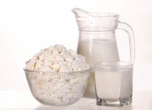 Молочные продукты в сквашенном виде