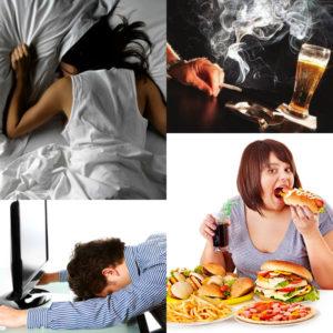 Причинами возникновения атеросклероза