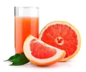 Грейпфруты и грейпфрутовый сок