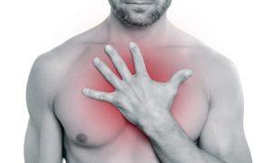 Болевые ощущения в области груди