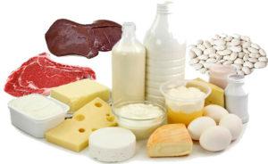 Ежедневное потребление животных жиров