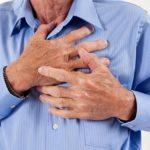 Болями в области груди