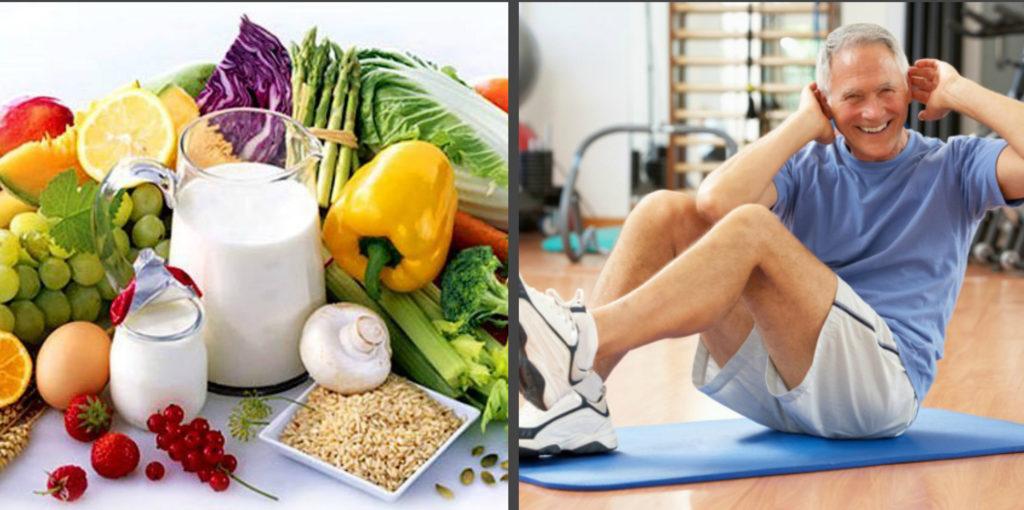 Диета и лечебная физкультура