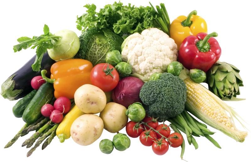 Есть больше овощей, фруктов, бобовых