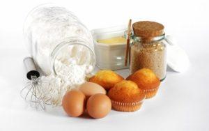 Бисквиты на основе маргарина и яиц
