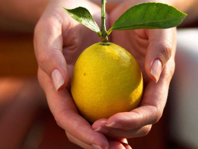 Лимон от давления