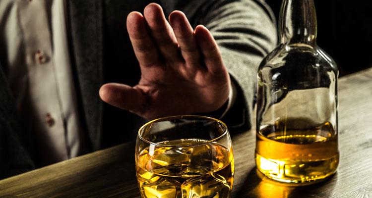 Алкоголь не принимают целый месяц