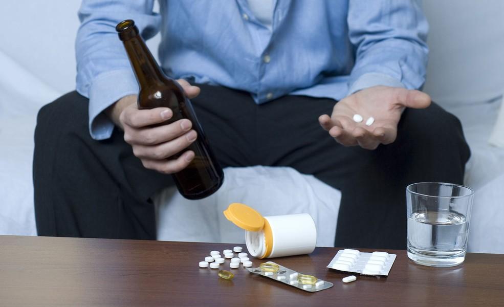 Совместное употребление с алкоголем