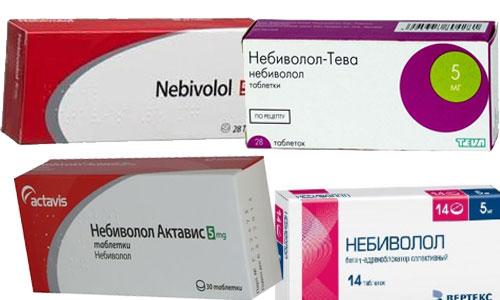 Небиволол таблетки