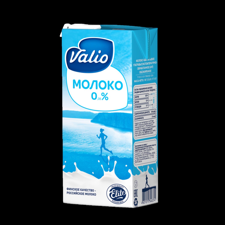 Нежирное молоко