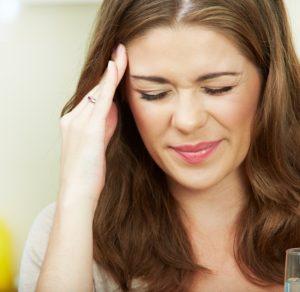 Головокружение и сильная головная боль