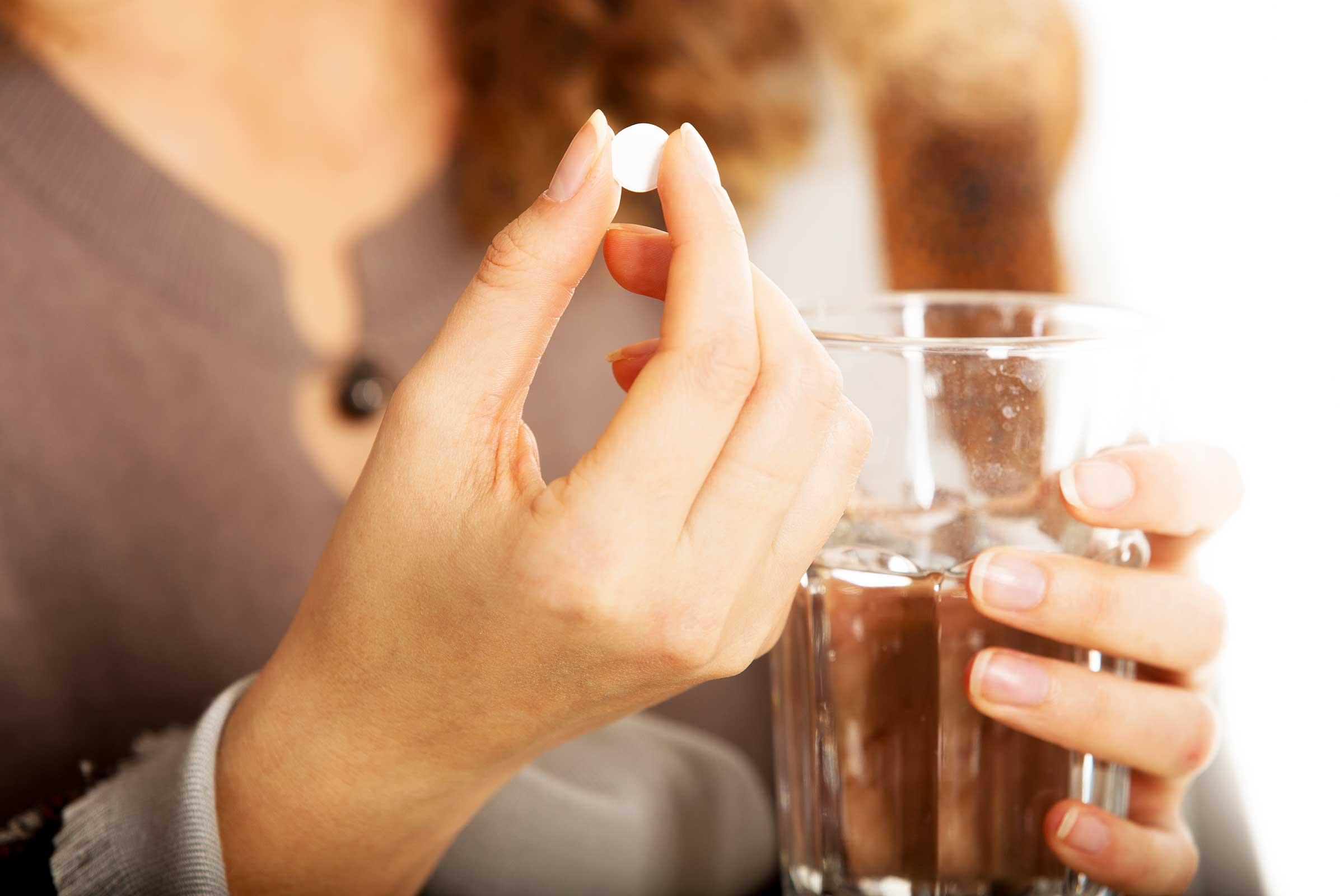Прием минимальной дозы