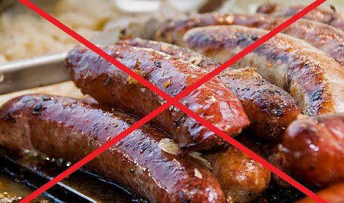 Исключить жирные и жареные блюда