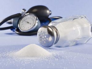 Влияние соли на давление