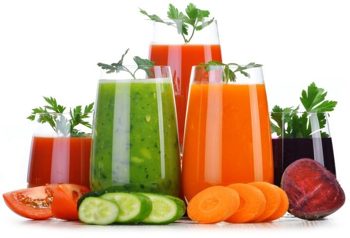 Сырые овощные соки
