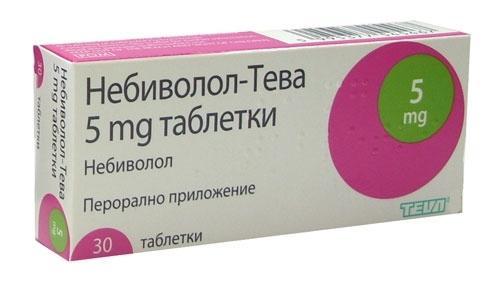 Небиволол фармакодинамика