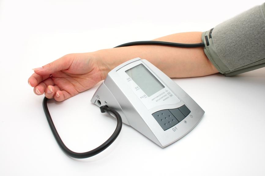 Измерение давления на правой руке